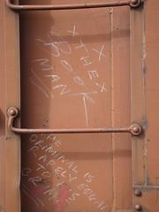 the book man (belowwherewebelong) Tags: man train book criminal crime rarely equal bookman