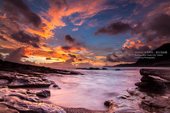Taiwan_Ruifang_Sunrise______IMG_4393 (Len) Tags: sea sky favorite cloud seascape sunrise landscape taiwan taipei   seacoast daybreak gettyimages cpl       blackcard  1116 ruifang 50d explored t116 platinumphoto  stunningskies  tokinaaf1116mmf28