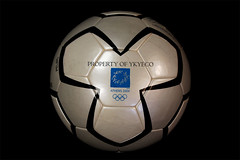 PELIAS OLYMPIC GAMES 2004 ATHENS MATCH USED MEN'S FOOTBALL TOURNAMENT ADIDAS MATCH BALL 01 (ykyeco) Tags: 2004 ball football fussball top soccer ballon games athens match olympic bola adidas pelota palla balon pallone    omb   spielball pelias