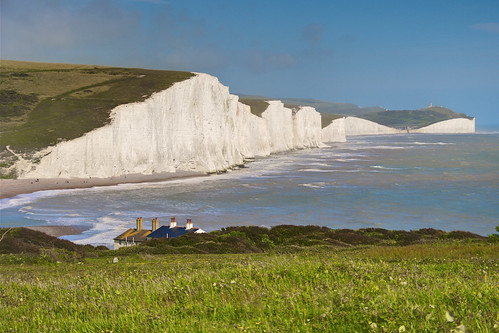 (1714) The Seven Sisters cliffs / uk