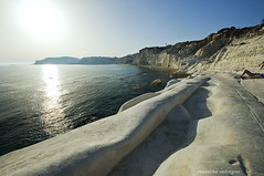 Scala dei turchi  | Stair of the Turks (Massilo) Tags: trip light sky italy panorama mer mar agua nikon italia mare sicily acqua sicilia scaladeiturchi nikond90 panoramafotografico paeasaggio stairoftheturks