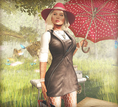 - rain -  #2 (FlowerDucatillon) Tags: flower fashion blog post secondlife pixel lamb erratic slupergirls flowerducatillon hairfair2012