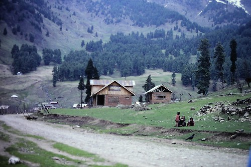 Village of Aru, Kashmir