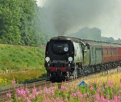 BOB no.34067 'Tangmere' (alts1985) Tags: train coast main bob junction steam line flyover tangmere doreset rytc worting battledown no34067 260712