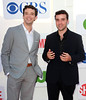 Michael Urie and David Krumholtz CBS Showtime's CW Summer 2012 Press Tour at the Beverly Hilton Hotel - Arrivals Los Angeles, California
