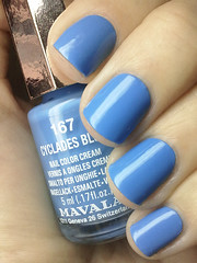 cyclades blue, mavala (nails@mands) Tags: blue azul nagellack polish bleu nails nailpolish lacquer azulzinho vernis esmalte smalto naillacquer verniz mavala nailsmands