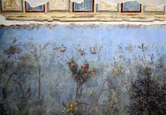 Painted Garden, Villa of Livia detail