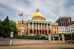 Massachusetts State Capitol (Nicholas Erwin) Tags: street city boston buildings lens ma outside high nikon downtown dynamic state massachusetts bean tokina capitol tall range f4 hdr 41 1224 lightroom d7000