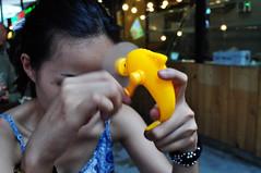 Instant cool (Roving I) Tags: plastic design dolphins fans novelties handles hcmc heat hochiminhcity saigon vietnam winding