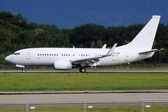 Hongkong Jet  Boeing 737-73W(BBJ) VP-BOP (widebodies) Tags: genf geneva gva lsgg widebody widebodies plane aircraft flughafen airport flugzeug flugzeugbilder hongkong jet boeing 73773wbbj vpbop