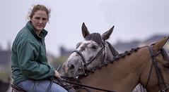 I want a look-in too! (Frank Fullard) Tags: frankfullard fullard candid street portrait horse horsefair fair ballinasloe curious inquisitive grey rowan lady jockey irish ireland
