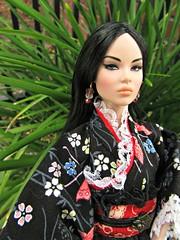 Ayumi in Florida1 (annesstuff) Tags: annesstuff nuface doll fashiondoll fashionroyalty integritytoys ayumi florida azone geisha