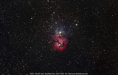 M20 Trifid Nebula (mariusz.bialobrzewski) Tags: trifid nebula m20
