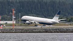 EC-LZO Privilege Style Boeing 767-35D(ER) - cn 27902 / 577 (Otertryne2010) Tags: 2016 boeing enva norway trd trondheim vrnes landing privilege style smoke brakes 76735der sevilla fc andalucia