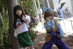 Fanime 2016: Kid Shipo and Young Kagome (Eras Photography) Tags: fanime fanime2016 cosplay cosplayphotography animecosplay inuyasha inuyashacosplay shipoandkagome children shippocosplay shipocosplay kagome kagomecosplay