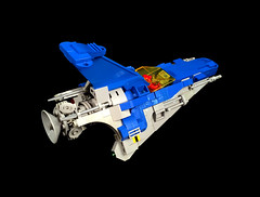 """LL-671 """"Arrowhead"""" starfighter (timhenderson73) Tags: lego moc custom neo classic space federation starfighter star fighter"""