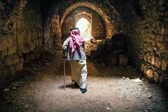 (Mathijs Buijs) Tags: bedouin crusader castle al karak jordan middleeast desert canon eos 7d keffiyeh ancient ruin ruins light medieval