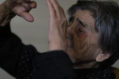 Explanations (dzepni_oktavo) Tags: old age nana granny melancholy emotive portrait loneliness sorrow gesture