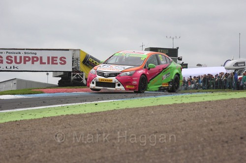 Mike Epps in BTCC race 2 during the Knockhill Weekend 2016
