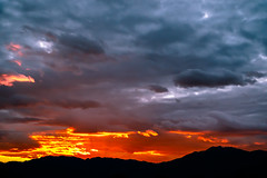Cloud Contrast (Carl Cohen_Pics) Tags: sierraestrellamountains clouds mountain sunset sky rays winter komatke gilariverindiancommunity canon nature