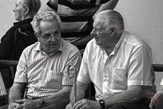 Bolera Nocedo. León. (A.GibajaPhotography) Tags: bolos bowling bolera mayores abuelos blancoynegro old people bolo leones leon spain españa