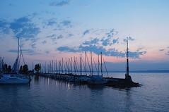 blue port 2 (sunsetsra) Tags: balaton balatonboglar balatonboglr lake hungary sky skyscape nature water waterscape sun clouds cloud sunset twilight sundown