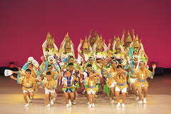 32 (ajpscs) Tags: ajpscs japan nippon  japanese  tokyo  nikon d750 street people stagephotography matsuri seasonchange summer natsu   bonfestivities  thedanceofthefools awaodori awadance  ren dancers obon festival  culture tradition minamikoshigayaawaodori summerdance  32
