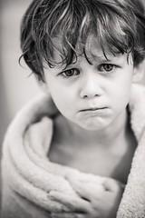 Every bath ends. (aamith) Tags: portraiture eyes bath kids dof bokeh carlzeiss nikond750 blackandwhite portrait