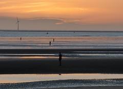 Crosby Beach (Puerto De Liverpool.) Tags: crosbybeach liverpool merseyside crosby waterloo sunset themerseysidecoastline coastal thecoast liverpoolbay theirishsea sandybeach beaches