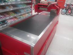 Belt-Driven Checkout Lanes (Random Retail) Tags: kmart store retail 2015 sidney ny