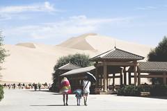 IMG_6722 (chungkwan) Tags: china chinese gansu province weather dry sands canon canonphotos travel world nature landmark landscape   dunhuang  crescent crescentlake  mingsha mingshamountain  camels silkroad