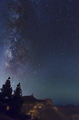 Roque Nublo y va lctea desde la Degollada de Becerra (carlos.santiagoherrero) Tags: nikon d5100 tokina 116 1116 roque nublo teide gran canaria va lctea