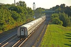 Amtrak 48 Heading for New York (craigsanders429) Tags: amtrak amtraktrains amfleet amfleetequipment amtrakinpennsylvania csxeriewestsubdivision tracks railroadtracks lakeshorelimited amtrakslakeshorelimited passengertrains passengercars passengertrain northeastpennsylvania bortroad