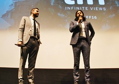 "Q&A, ""Barry"" World Premiere (larry-411) Tags: tiff film festival filmfestival toronto torontofilmfestival ryerson barry vikramgandhi"
