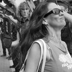 Comic Con 2016-377 (rmc sutton) Tags: comiccon crowd comiccon2016 blackandwhite bw monochrome ashevildead line sandiego sdconventioncenter series photoseries