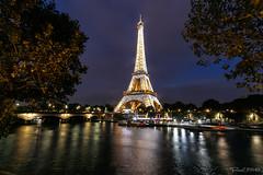 Torre Eiffel - Pars (Casimemato) Tags: tower tour eiffel torre sena rio river water agua cielo sky paris turismo monumentos history francia france