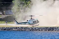 Maine Forest Service Bell UH-1H N945MF (jbp274) Tags: greenville greenvilleseaplaneflyin flyin 52b lake water helicopter maineforestservice bell uh1 huey iroquois bell205 mooseheadlake