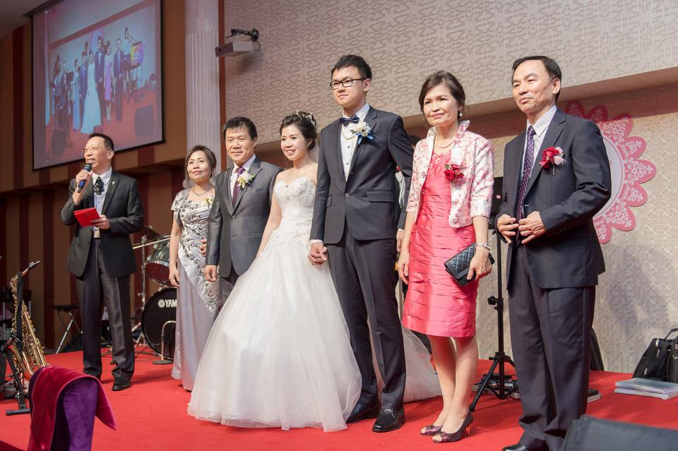 台南婚攝 情定婚宴城堡永康館 婚禮紀錄 C & V 134