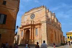 Catedral de Ciutadella (serenacs) Tags: menorca minorca spagna spain españa catedral de ciutadella catedraldeciutadella illes balears illesbalears europe european architecture church antic art square world walking exploring trip town travel throwback travelling old people pictures photo photography photos public place plaza ppl amazing sky sun street summer sunny day flickr fun friends friendship family holiday history historical nikon nikond3100