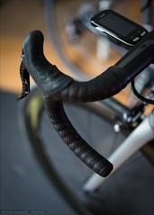 Neues Lenkerband (Torsten Frank) Tags: canyon edge1000 elektronik fahrrad garmin h36aerocockpitcf lenker lenkerband radcomputer rennrad ultimatecfslx cycling bike bicycle roadbike handlebar