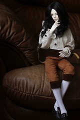 9082 (greentoshka) Tags: bjd dollzone grey