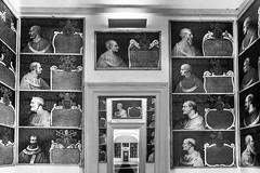 Popes gallery (savolio70) Tags: altieri oriolo orioloromano savolio stefanoavolio blackwhite blackandwhite monocromo popes papi galleria palazzoaltieri biancoenero bianconero prospettiva perspective
