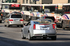 Cadillac CTS Coupe (Alex Nunez) Tags: auto nyc ny car sport automobile driving manhattan cadillac american luxury coupe hellskitchen 10thave cts