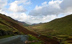Newlands Valley (CNorth2) Tags: road uk travel autumn england lake fall canon landscape district pass powershot valley cumbria unclassified newlands hause g11