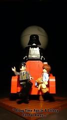 Along Time Ago,In A Galaxy Far Far Away (Legoagogo) Tags: england starwars lego darthvader chichester moc afol legoagogo