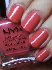 pastel coral, nyx (nails@mands) Tags: coral nagellack polish nails nailpolish nyx lacquer vernis esmalte verniz nyxsalon pastelcoral salonformula