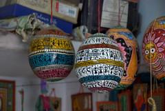 Painted Papier-mache (VinayakH) Tags: india art heritage artwork village traditional orissa artisan traditionalcrafts raghurajpur utkal tassar pattachitra odisha