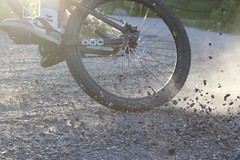 Gravel slide (tb-jonte) Tags: bike rocks stones slide nike gravel tyre tyres mavic haro roadpoc