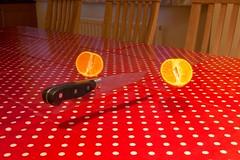 levitate6 (Torrit | www.sevencolours.biz) Tags: fruit paintshop knife fake trick float levitate