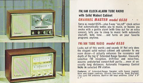 CHANNEL MASTER Radio, Television, Tape Recorder, Walkie Talkie and Interphone Brochure (USA 1961)_09